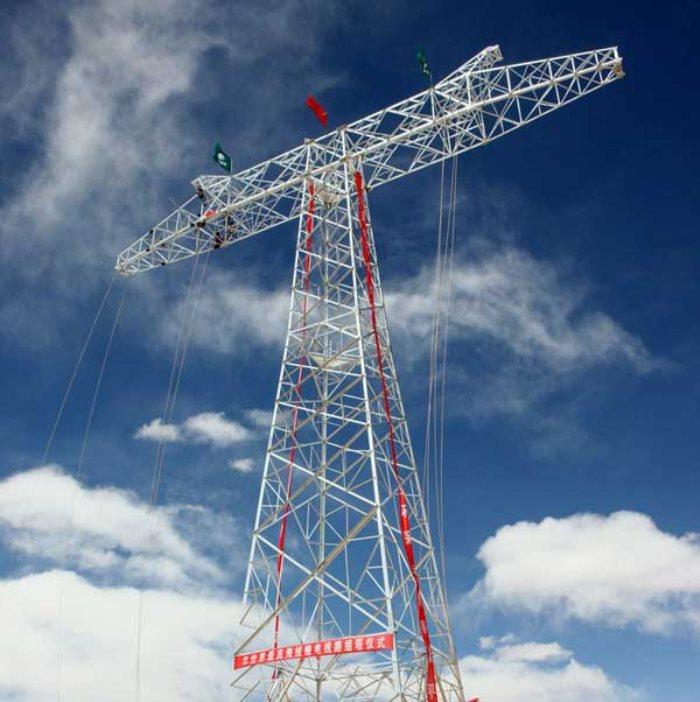 高压输电塔-输电线路铁塔工程-青岛钢结构-青岛明珠