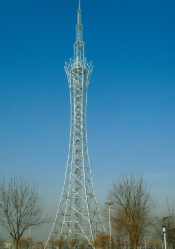 广播电视塔工程-青岛钢结构-青岛明珠钢结构有限公司